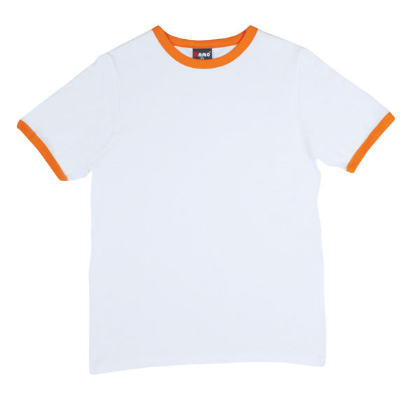 Orange And White Shirt | Is Shirt